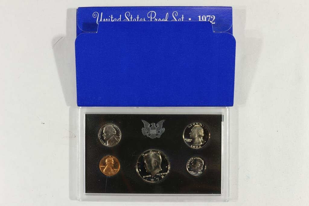 1972 US PROOF SET (WITH BOX)