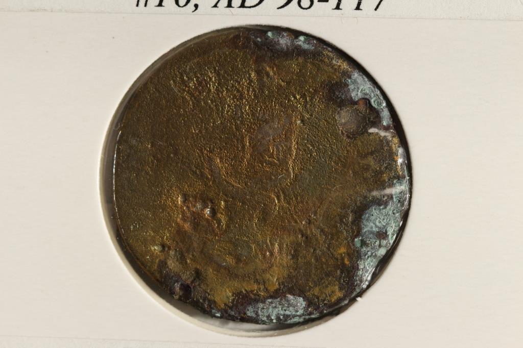 98-117 A.D. TRAJAN ANCIENT COIN - 2