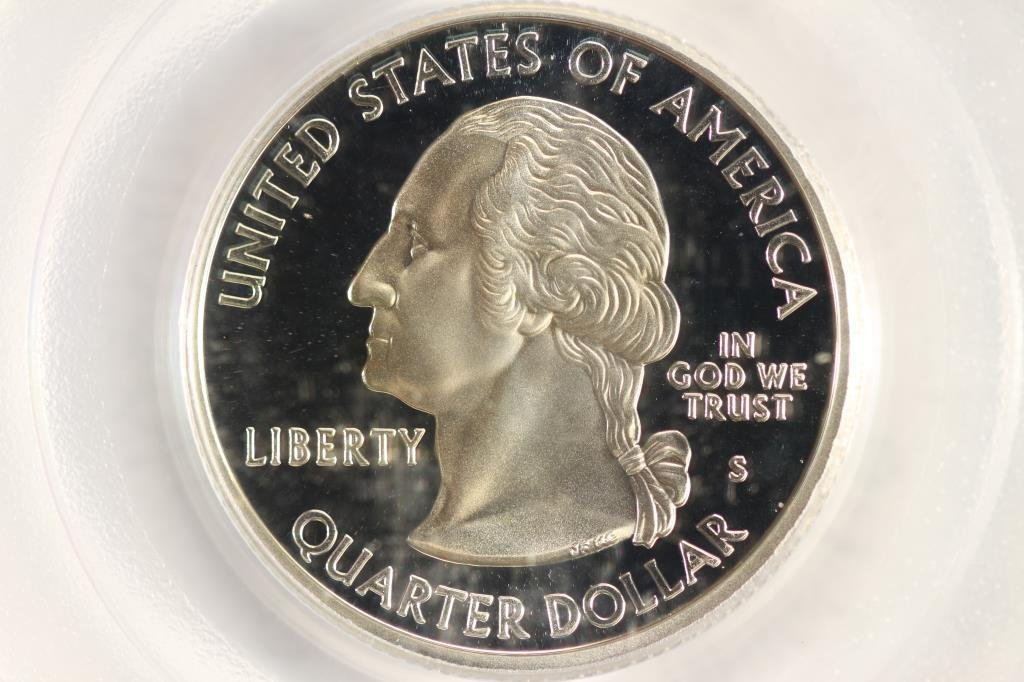 2000-S SILVER  NEW HAMPSHIRE QUARTER PCGS PR69 - 2