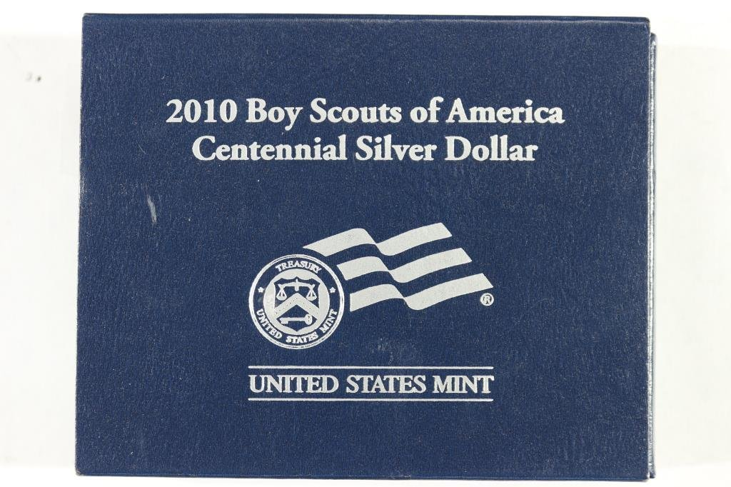 2010-P BOY SCOUTS OF AMERICA UNC SILVER DOLLAR - 3