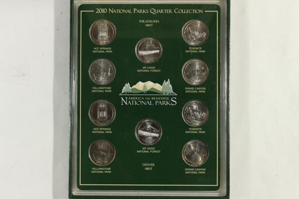 2010-P & D N.P. QUARTERS SET UNC