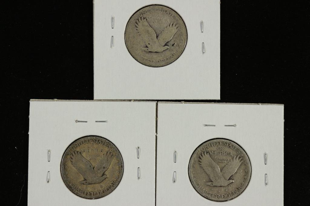1926,29 & 1930 STANDING LIBERTY QUARTERS - 2