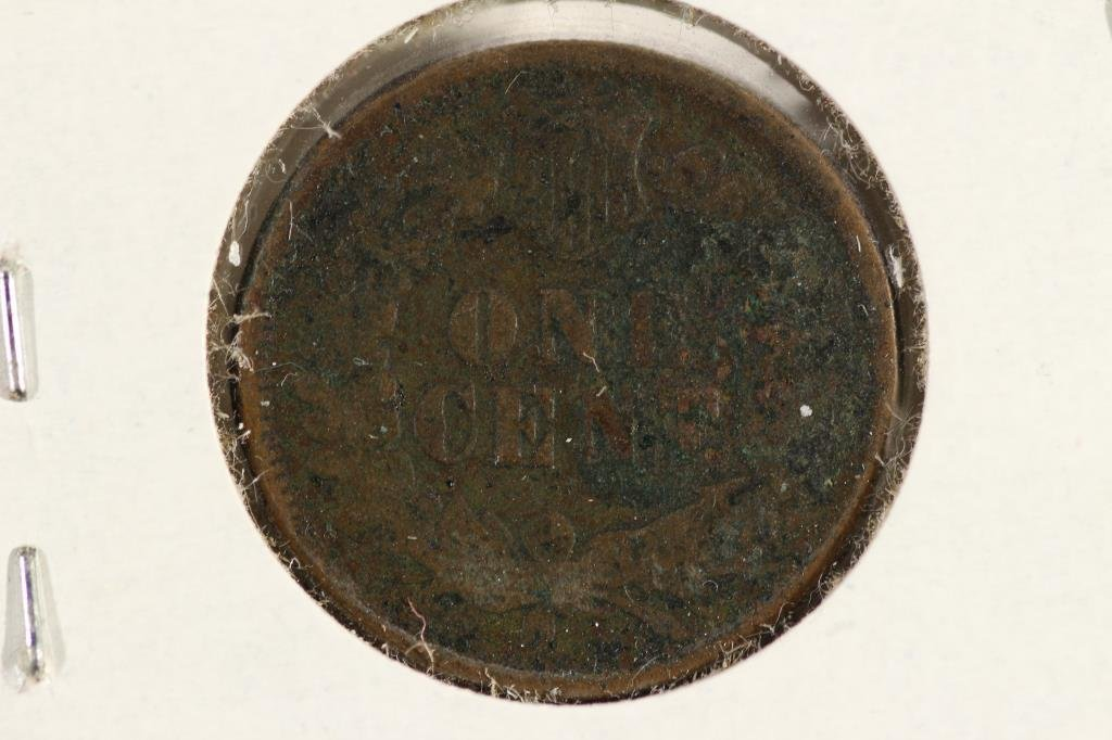 1876 INDIAN HEAD CENT - 2