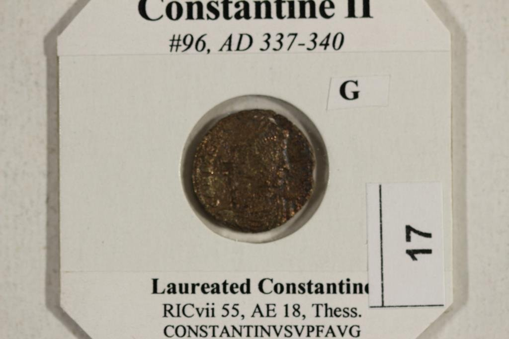 337-340 A.D. CONSTANTINE II ANCIENT COIN - 3