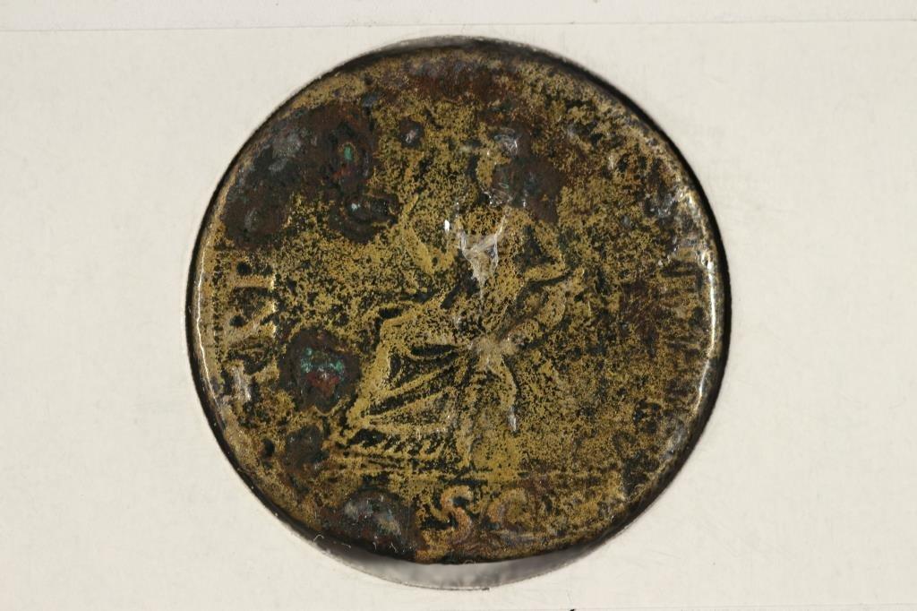 98-117 A.D. TRAJAN ANCIENT COIN (FINE) - 2