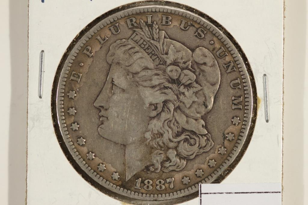 1887-O MORGAN SILVER DOLLAR