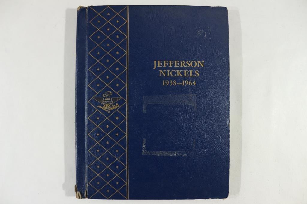 PARTIAL 1938-1964 JEFFERSON NICKEL ALBUM - 5