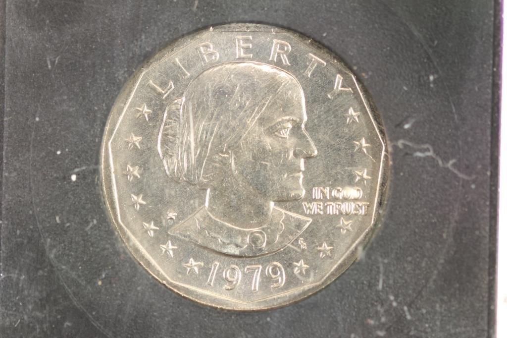1971 IKE DOLLAR & 1979 SBA DOLLAR BOTH BRILLIANT - 4