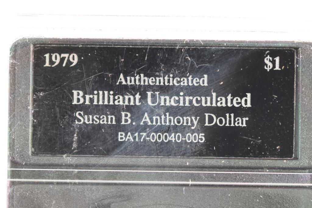 1971 IKE DOLLAR & 1979 SBA DOLLAR BOTH BRILLIANT - 6