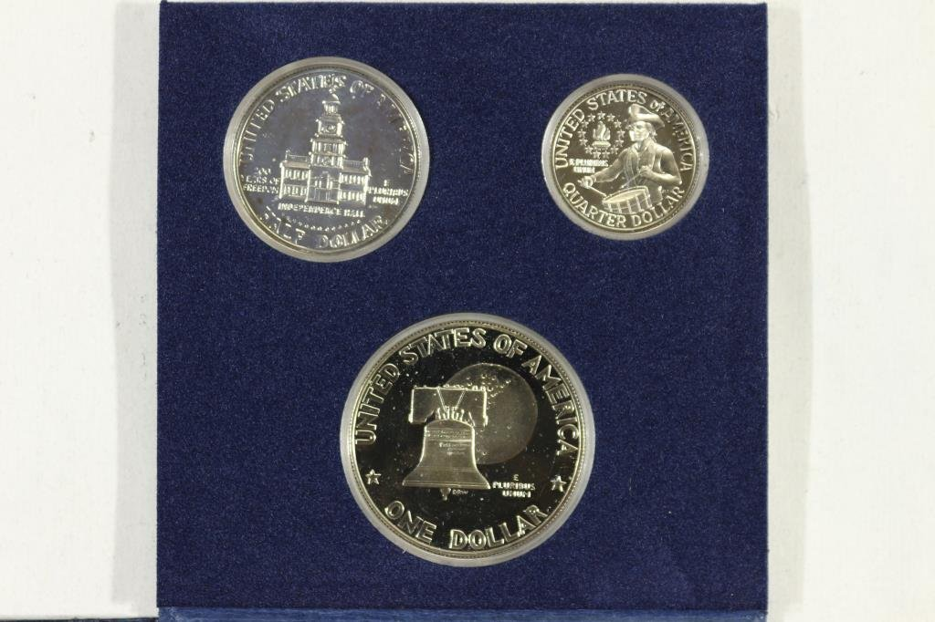 1976-S US BICENTENNIAL SILVER PROOF SET - 2
