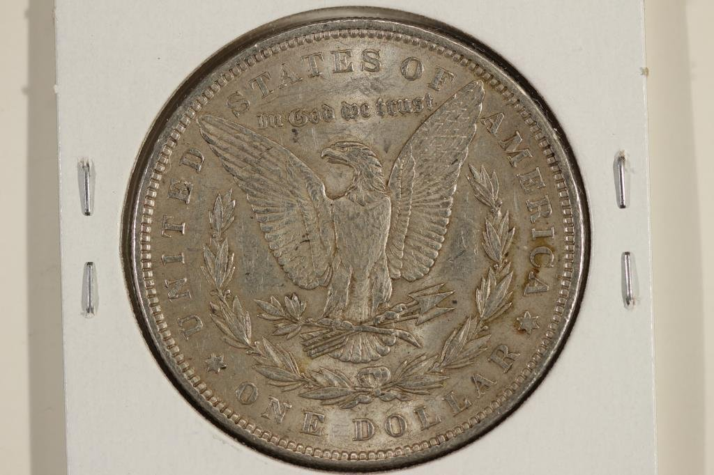 1884 MORGAN SILVER DOLLAR - 2