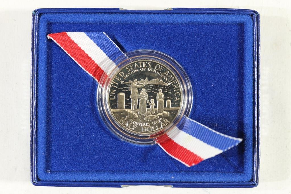 1986-S STATUE OF LIBERTY HALF DOLLAR - 2