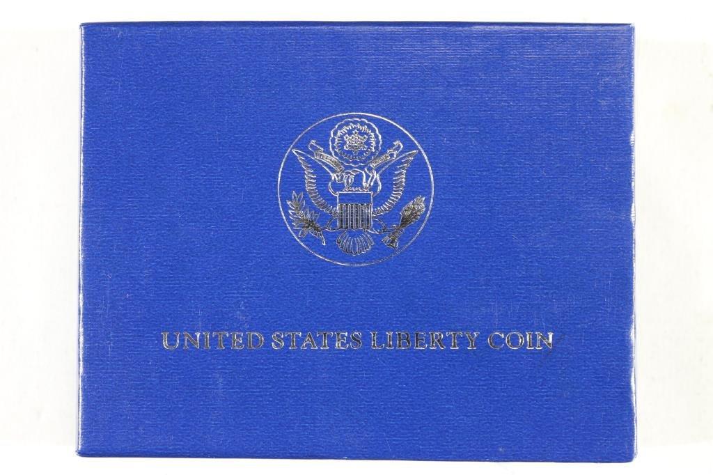 1986-S STATUE OF LIBERTY HALF DOLLAR - 3