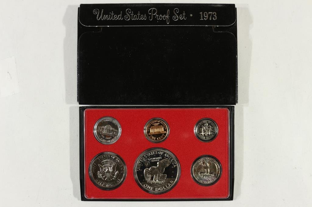 1973 US PROOF SET (WITH BOX) - 2