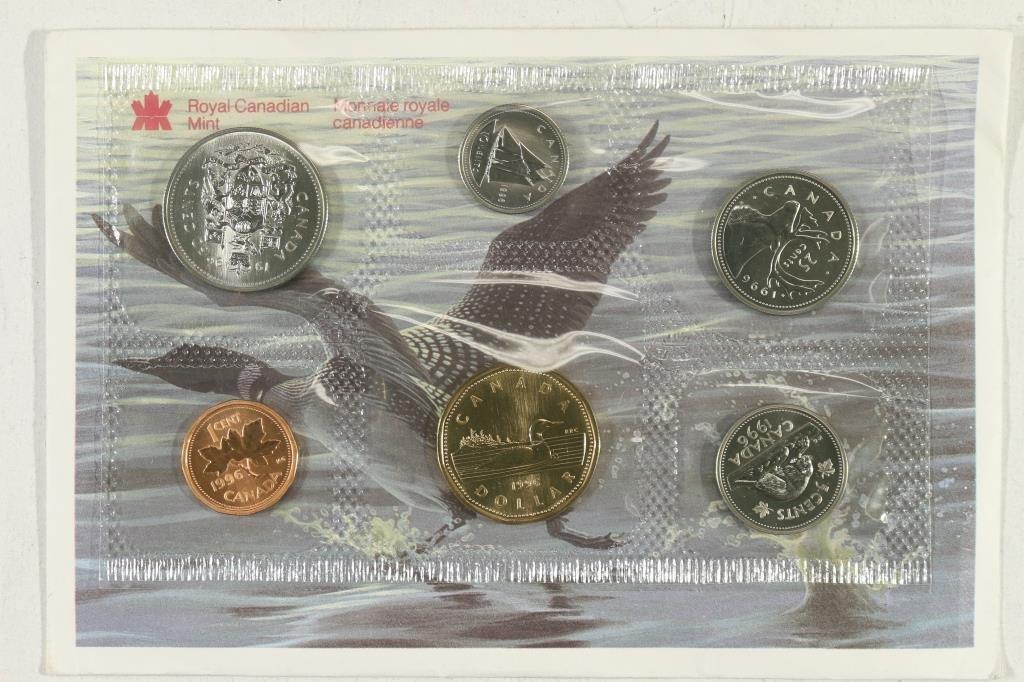 1996 CANADA UNC SET ORIGINAL ROYAL CANADIAN MINT G