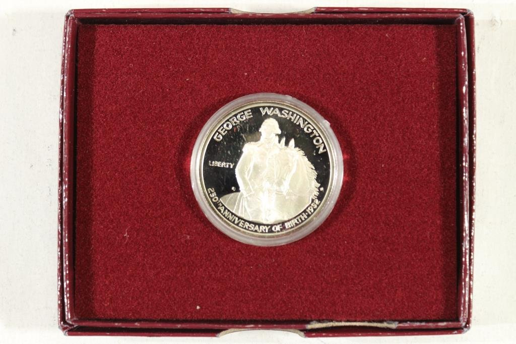 1982-S WASHINGTON SILVER COMMEMORATIVE HALF PF