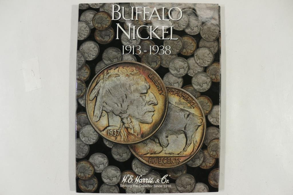 PARTIAL 1913-1938 BUFFALO NICKEL ALBUM 11 COINS - 5