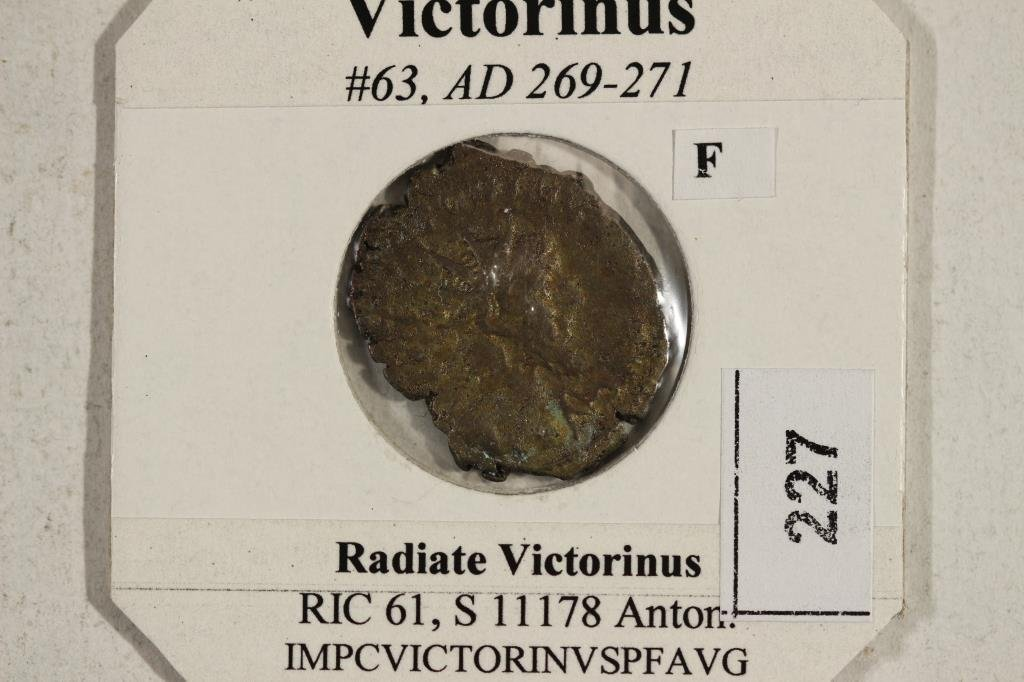 269-271 A.D. VICTORINUS ANCIENT COIN (FINE) - 3