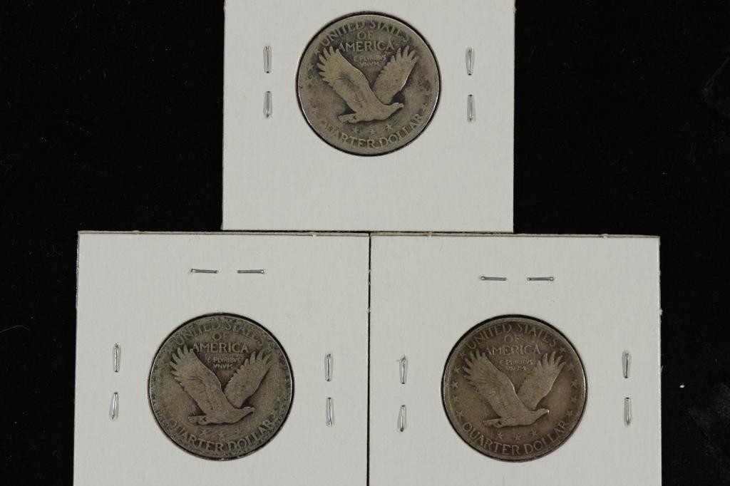 1925,27 & 1930 STANDING LIBERTY QUARTERS - 2