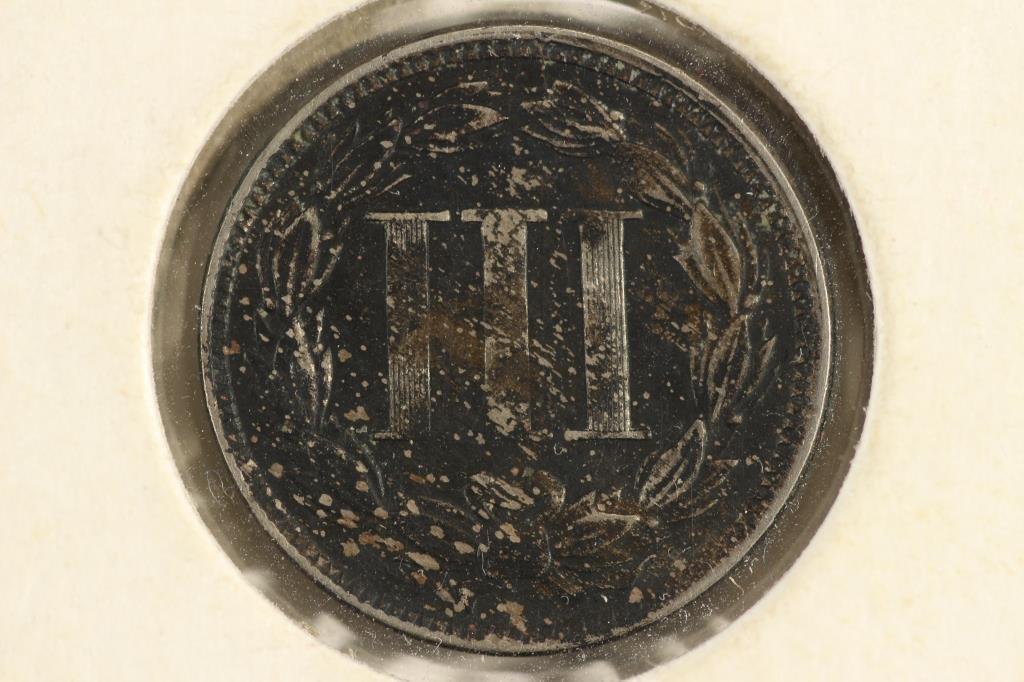 1866 THREE CENT PIECE (NICKEL) - 2