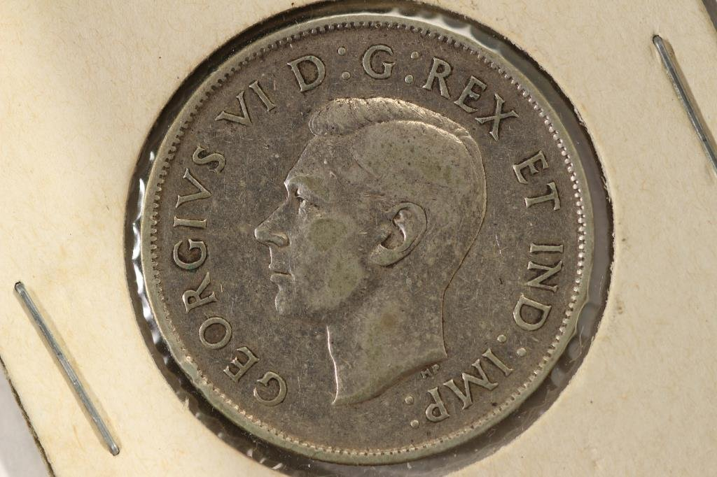 1944 CANADA SILVER 50 CENTS - 2