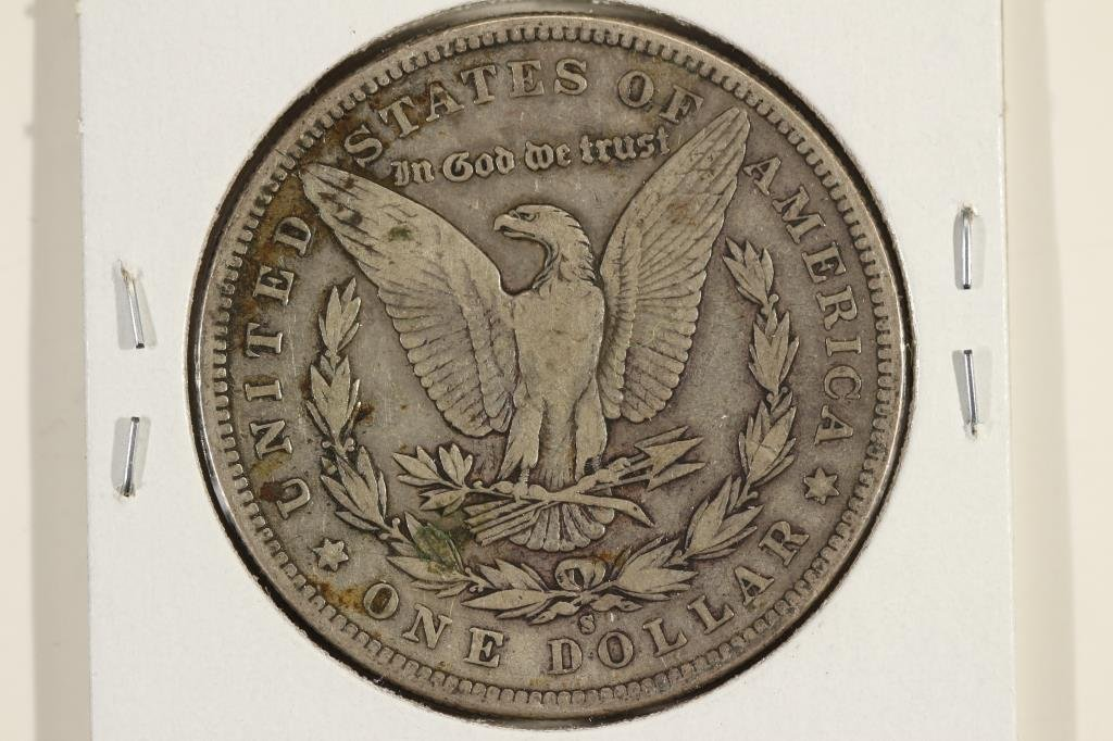 1892-S MORGAN SILVER DOLLAR BETTER DATE - 2