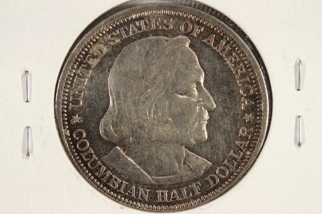 1892 COLOMBIAN EXPOSITION HALF DOLLAR - 2