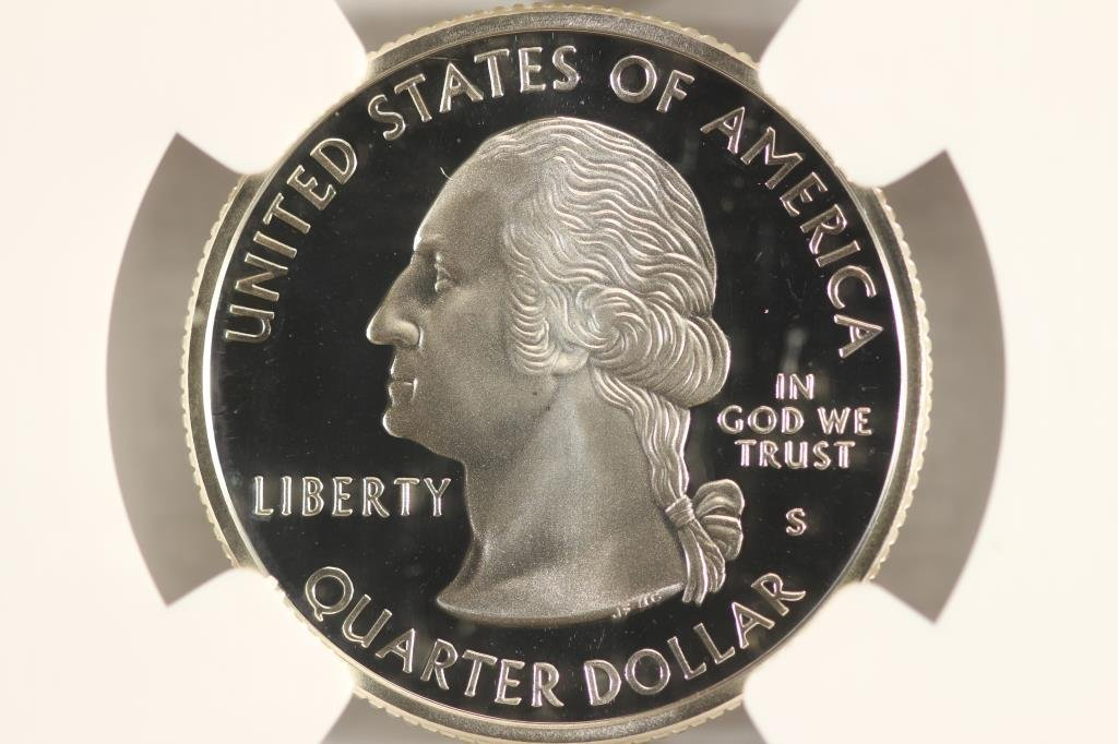 1999-S SILVER CONNECTICUT QUARTER NGC PF69 - 2
