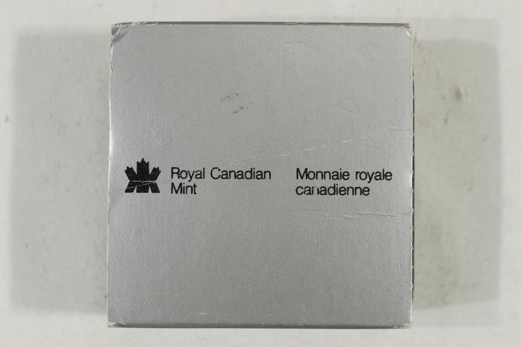1982 CANADA REGINA SILVER DOLLAR PF .3750 OZ. ASW - 3