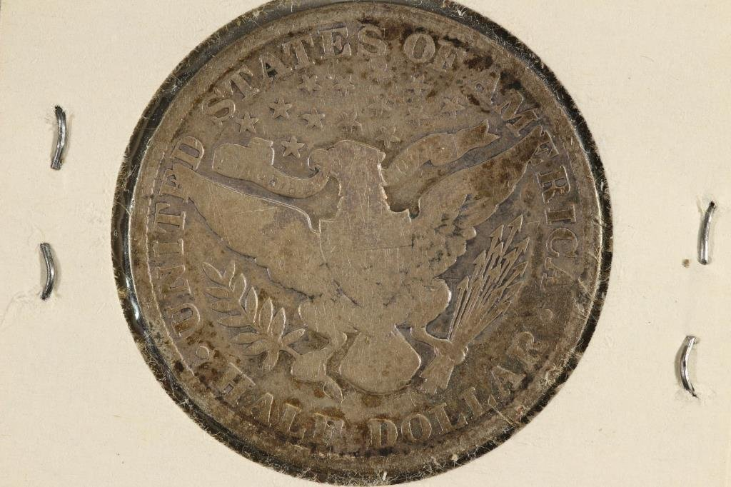 1901 BARBER HALF DOLLAR - 2