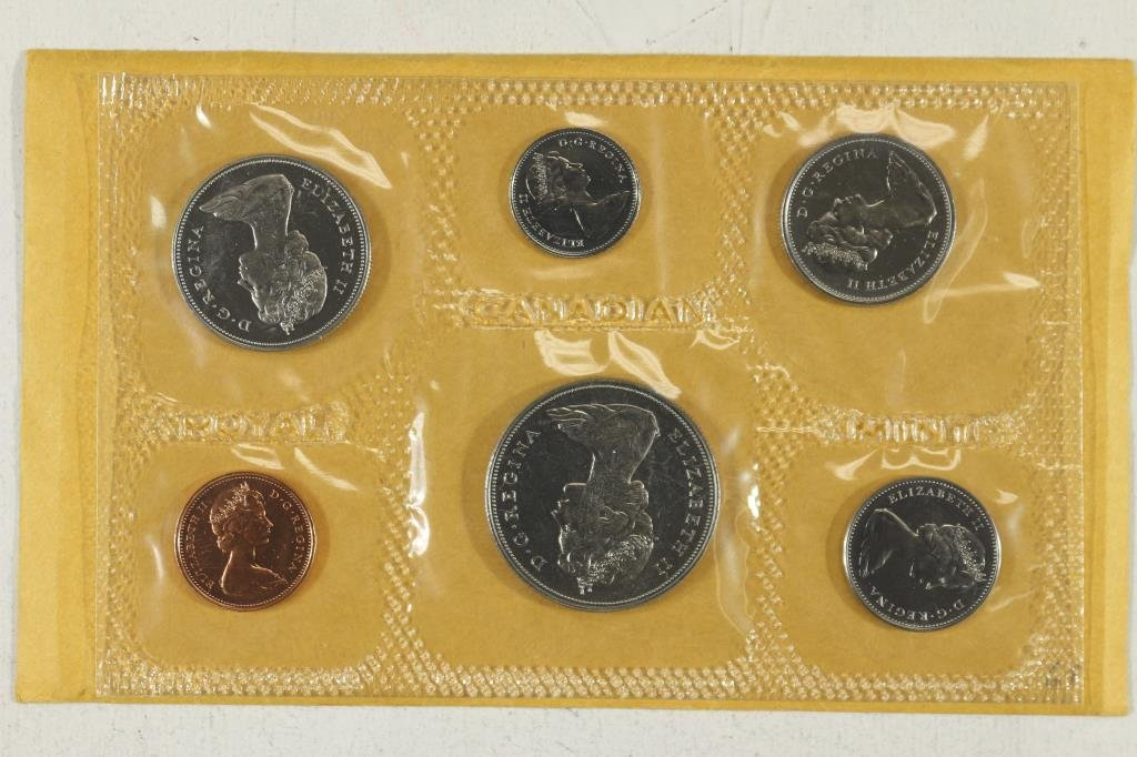 1969 CANADA (PF LIKE) SET WITH ENVELOPE - 2