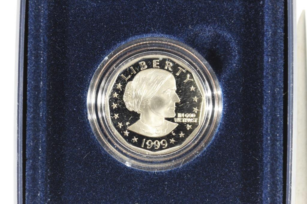 1999 SBA DOLLAR PROOF DOLLAR COIN