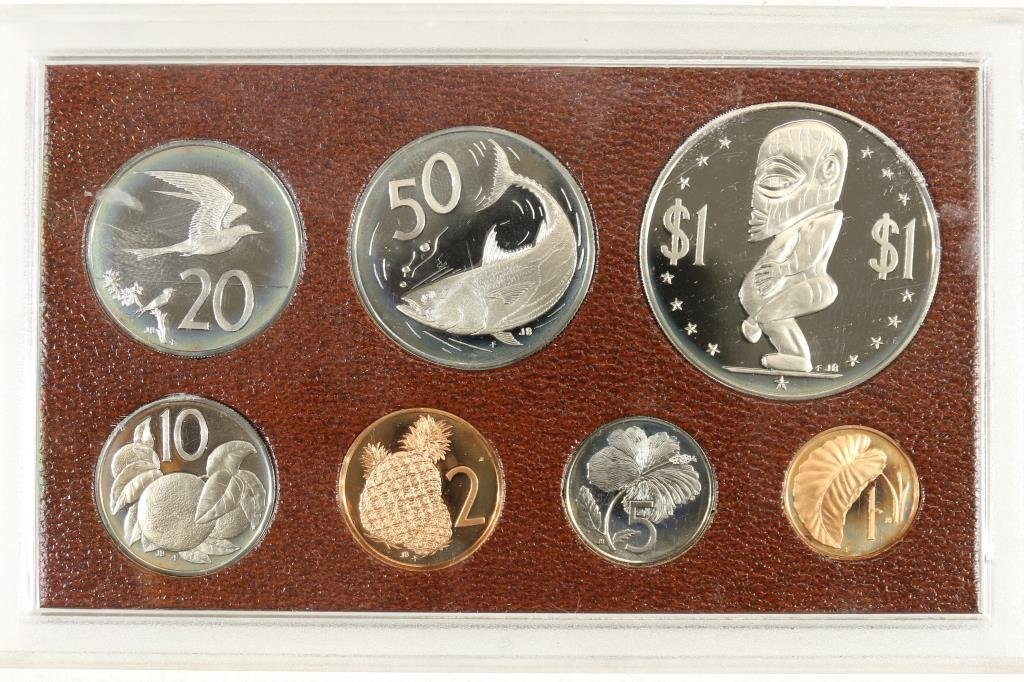 1975 COOK ISLAND PROOF SET