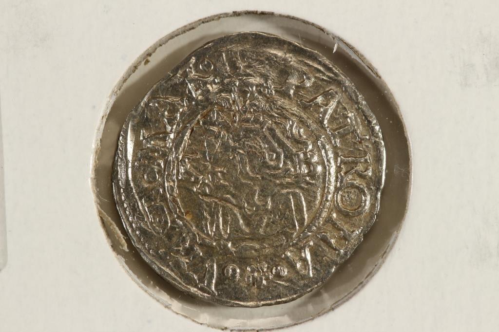 CIRCA 1526-64 HUNGARY SILVER DENAR FERDINAND I ERA