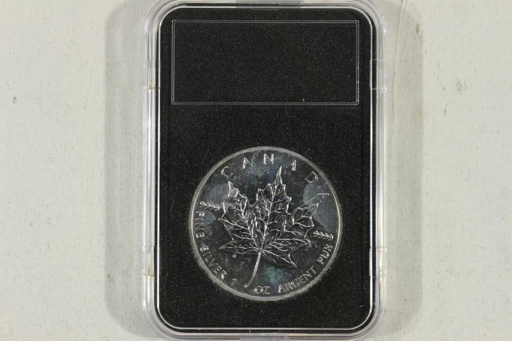 2013 CANADA $5 1 OZ. SILVER MAPLE LEAF