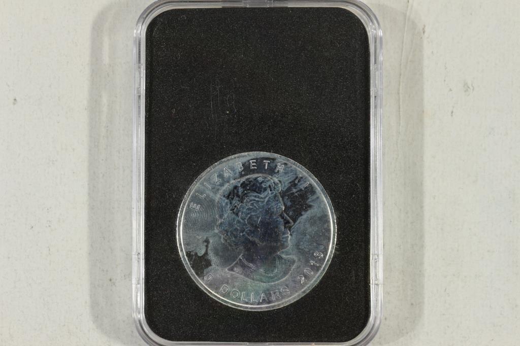 2013 CANADA $5 1 OZ. SILVER MAPLE LEAF - 2