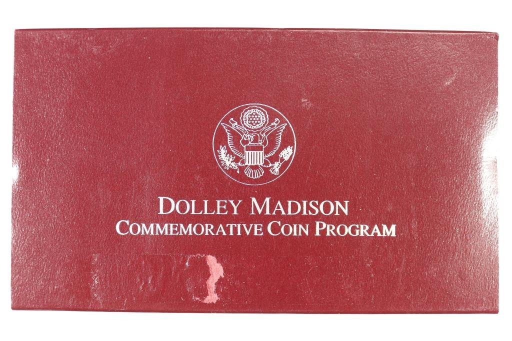 1999-P DOLLEY MADISON PROOF SILVER DOLLAR - 3