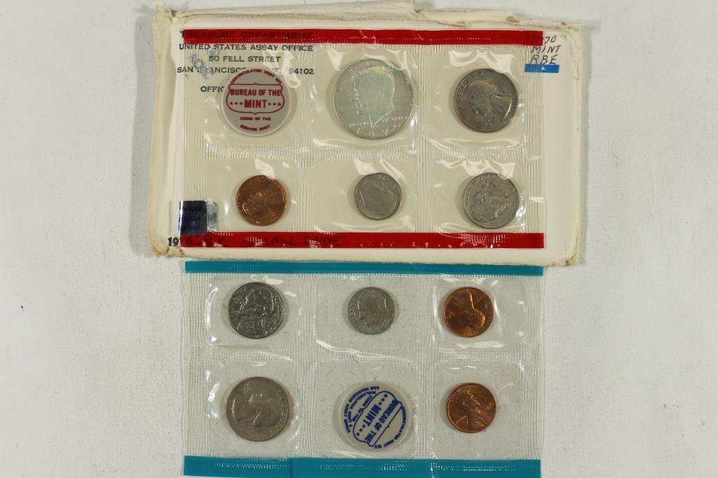 1970 SMALL DATE US MINT SET (UNC) P/D