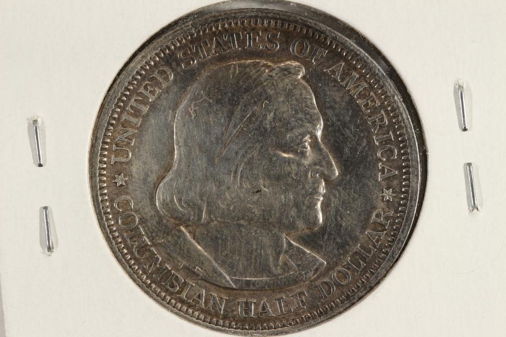 1893 COLOMBIAN EXPOSITION HALF DOLLAR - 2