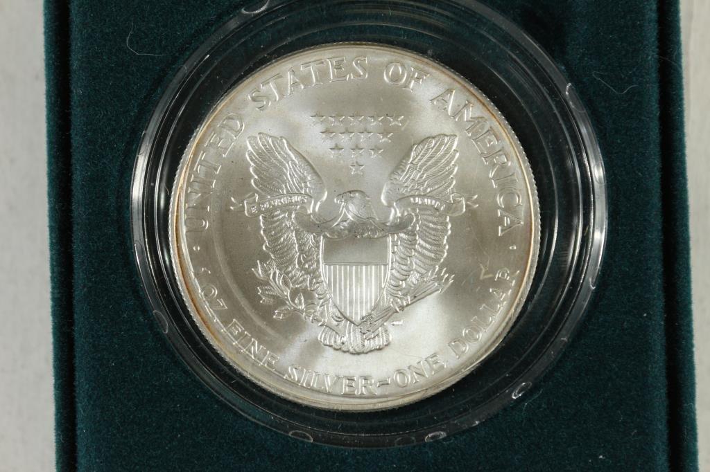 2000 COLORIZED AMERICAN SILVER EAGLE UNC - 2
