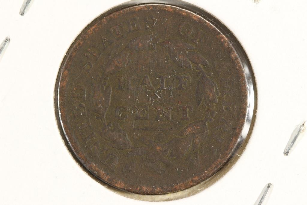 1809 US HALF CENT - 2