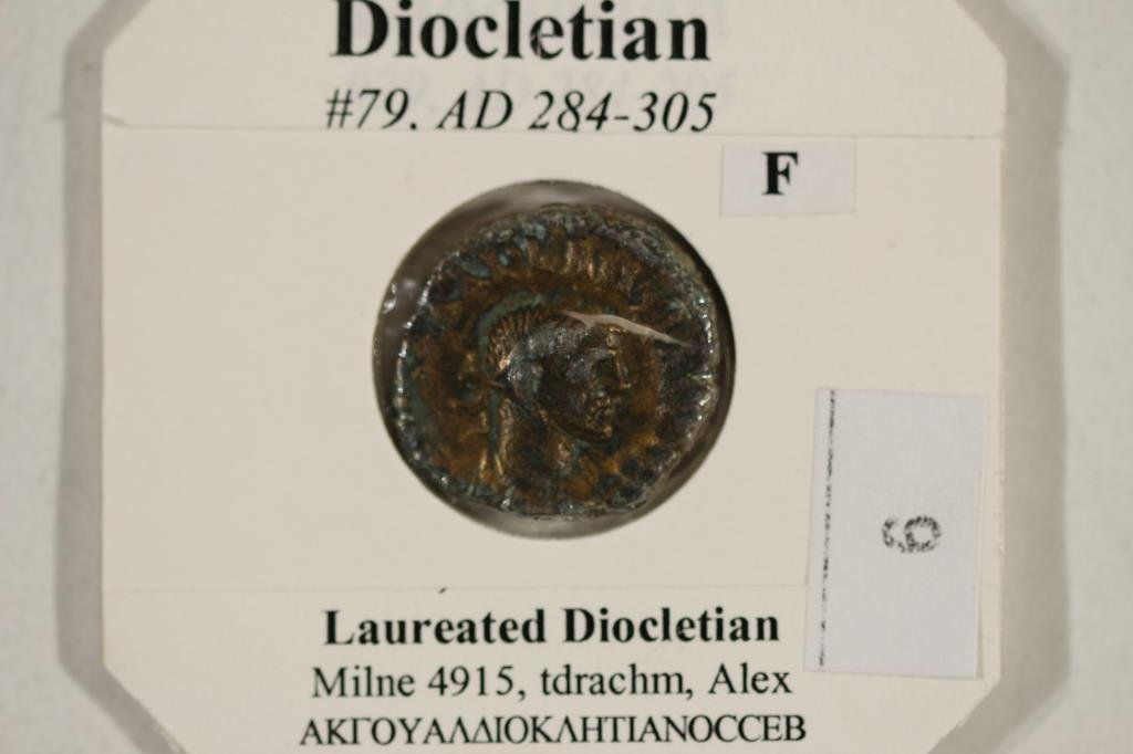284-305 A.D. DIOCLETIAN ANCIENT COIN (FINE) - 3