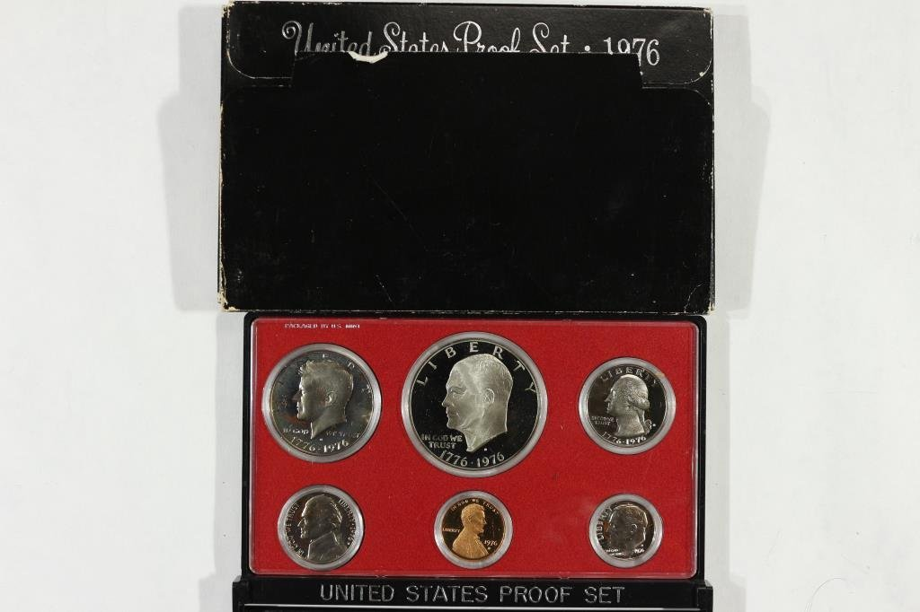 1976 US PROOF SET (WITH BOX)