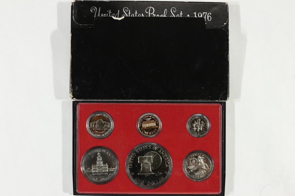 1976 US PROOF SET (WITH BOX) - 2