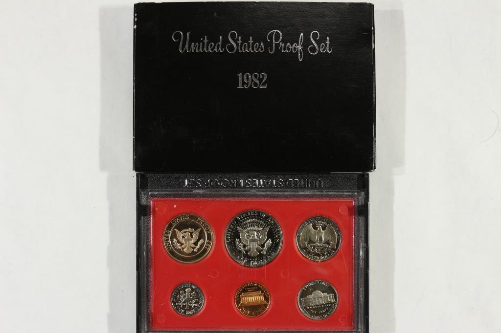 1982 US PROOF SET (WITH BOX) - 2