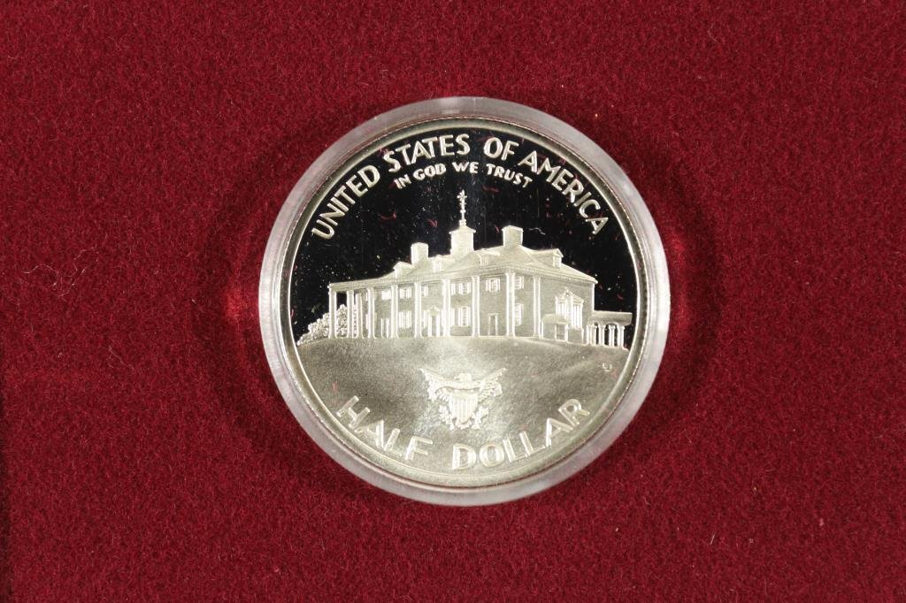 1982-S WASHINGTON COMMEMORATIVE SILVER HALF PF - 2