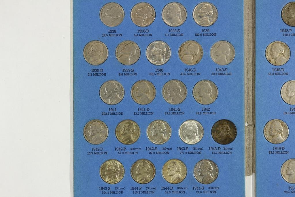 COMPLETE 1938-1961 JEFFERSON NICKEL SET - 2