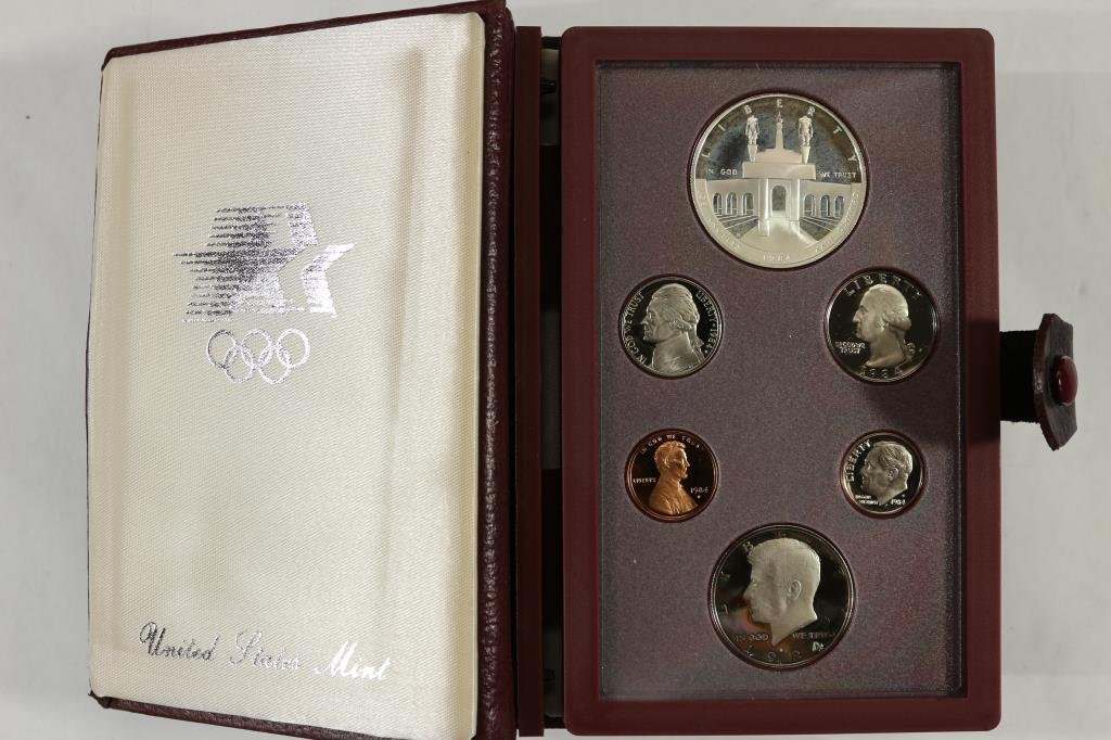 1984 US PRESTIGE PROOF SET OLYMPIC
