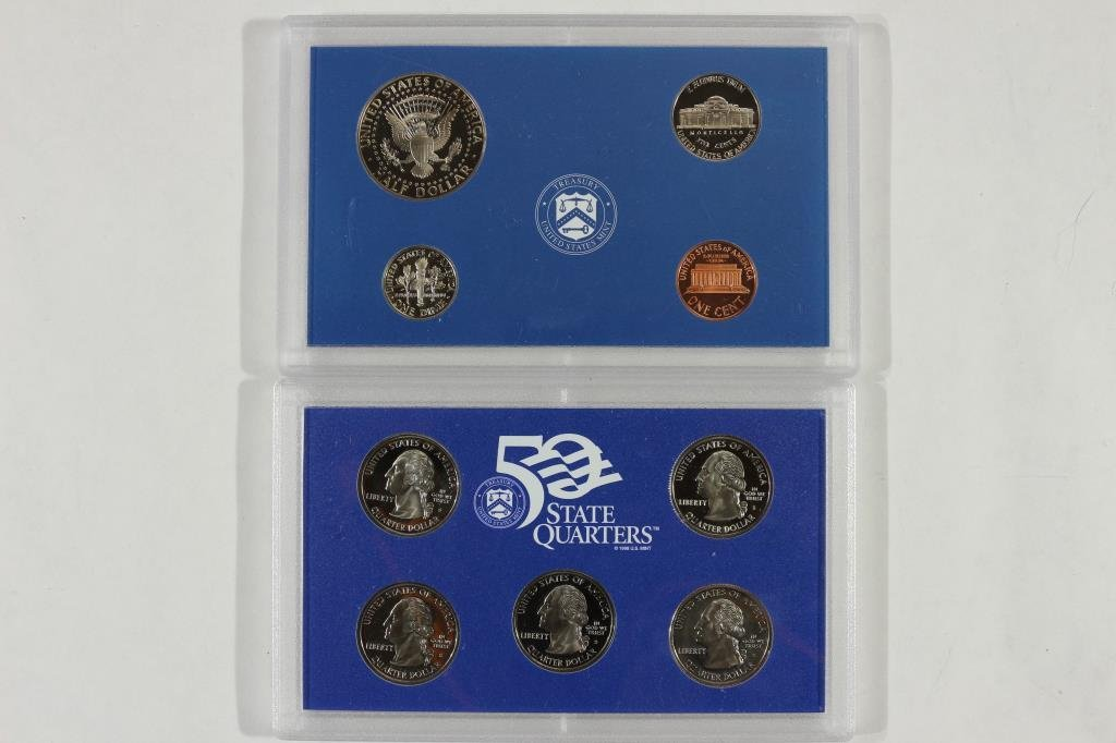 1999 US PROOF SET (WITH NO BOX) - 2