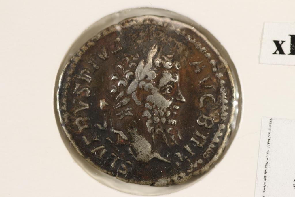 SILVER 193-211 A.D. SEPTIMUS SEVERUS ANCIENT COIN